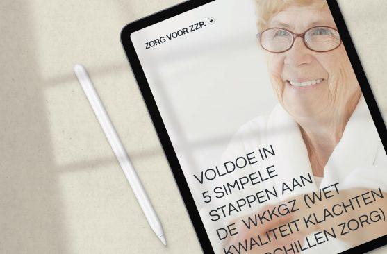 eBook Voldoe in 5 simpele stappen aan de Wkkgz
